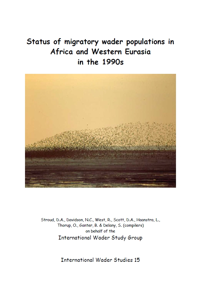 Number 15 - The status of migratory wader populations in Africa and Western Eurasia in the 1990s