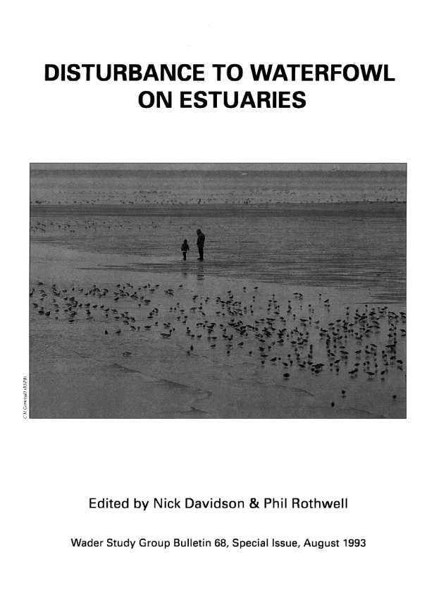 Number 5 - Disturbance to waterfowl on estuaries